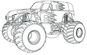 Grave Digger Coloring Page Grave Digger Monster Truck Coloring