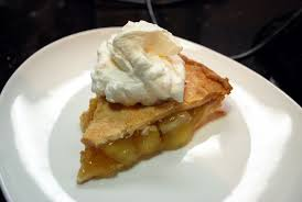 apple pie slice with whipped cream. Fine With Homemade Whipped Cream On Apple Pie Throughout Slice With