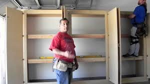 pdf diy build your own garage cabinets build kids workbench