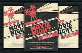 Movie Night Flyer Template Wedding Photography Contract