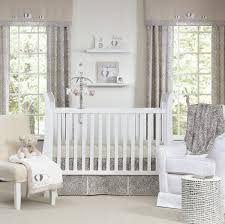 inspirational modern crib bedding with lovely color combination