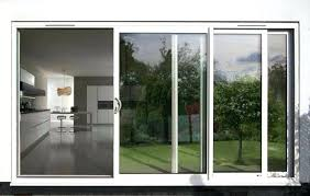triple sliding glass doors large size of patio replacement foot door for