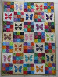 Scrappy Butterfly Baby Quilt Tutorial | FaveQuilts.com & Scrappy Butterfly Baby Quilt Tutorial Adamdwight.com