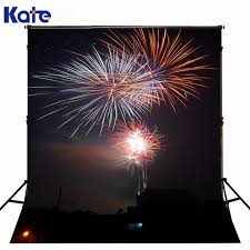 New Year Backdrops 10x20ft 3x6m Photo Background Christmas New Year Fireworks Night