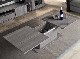 grey coffee table with sliding top tables regarding gray decor 16