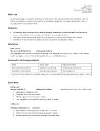 Automotive Technician Resume Building your automotive technician geared resume Auto Repair Facts 70