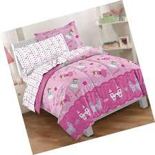 dream factory magical princess 4 piece bedding set toddler pink