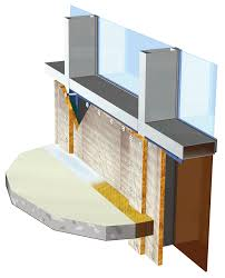 exterior curtain wall floor intersection. correct manner to fire-stop a curtain wall/floor intersection per astm exterior wall floor