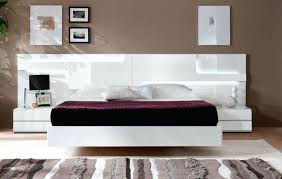 Platform bed with floating nightstands Bed Frame Modern Floating Bed Beautiful Modern White Bed Modern Platform Bed With Floating Nightstands Ncaddinfo Modern Floating Bed Floating House Modern Bedroom Modern Floating
