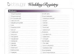 wedding registry list. Wedding Registry Template Best Baby Shower Images On Free Gift With