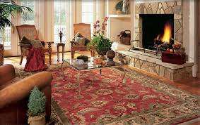 a quality area rug will help you break up that hard floor into softer more comfortable steps