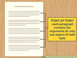How To Start A Compare And Contrast Essay 11 Steps