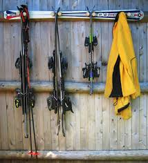 Standing Ski Coat Rack Ski Storage Racks Ski Wall Mount CozyWinters 37