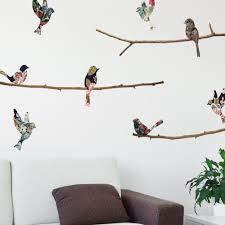 wall decal bird nature wall decal birds wall decal branch wall