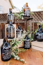 Whisky A Go Go Seating Chart Beer Jug Escort Cards Beer Wedding In 2019 Beer Wedding