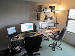 home office workstation desk. Joey\u0027s Workstation, As Seen From The Left Home Office Workstation Desk O