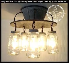 mason jar light fixture an exclusive lamp goods 5 the bathroom diy