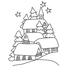 33 winter landscape coloring pages winter landscape coloring pages