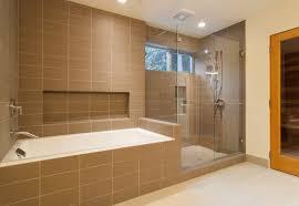 shower tub tile ideas door closed calm wall paint home depot porcelain lighting fixture white bathtub