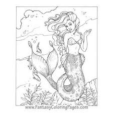 Small Picture 268 best Coloring Pages Sea Mermaid etc images on Pinterest