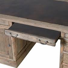 colonial reclaimed pine partner s desk