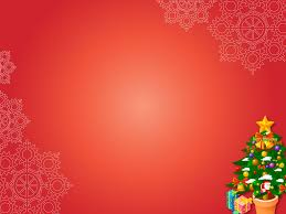 Christmas Template Free Free Merry Christmas Xmas Gifts On Red Backgrounds For PowerPoint 5