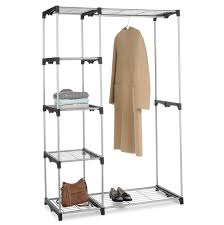 Portable Closet Rod Bedroom Interesting Clean Closet Organizer Walmart With Unique