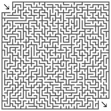 Gratis Doolhof Labyrinth Puzzle Game Voor Kinderen Hard 011