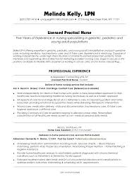 Example Lpn Resume Delectable Resume For Lpn Kenicandlecomfortzone