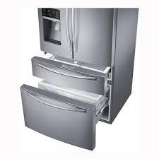 Pc Richards Kitchen Appliances Samsung 250 Cu Ft French Door Refrigerator Stainless Steel