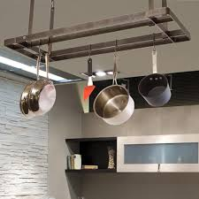 Pot Rack With Lights Home Depot Enclume Handcrafted All Bars Ceiling Pot Rack With 12 Hooks