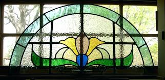 stained glass window frame completed leaded panel in work without antique framed panels decorating ideas for