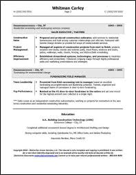 Example resume for entrepreneur page 2