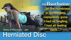 herniated disc surgery jen s story