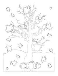 Small Picture Maple Tree Coloring Page Fall trees Worksheets and Leaves