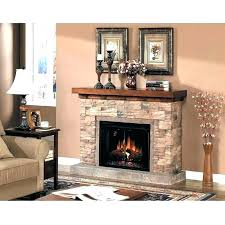 white stone electric fireplace stacked mantle on mantel diy electr