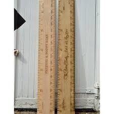 Wooden Height Chart Superlux Kids Wooden Ruler Height Chart