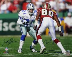 We hope you enjoy our growing collection of hd images. Amazon Com Deion Sanders Jerry Rice Autographed Cowboys 49ers 16x20 Photo Bas Pf Sports Collectibles