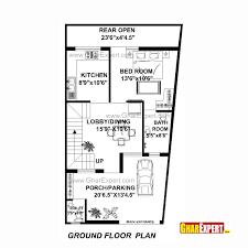 144 Square Feet House Plan For 22 Feet By 42 Feet Plot Plot Size 103 Square Yards