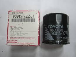 <b>Фильтр масляный</b> на <b>Toyota</b> Carina