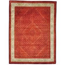 orange oriental rug handmade wool silk county cleaning persian and teal geometric bur