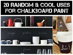 20 Random & Cool Uses For Chalkboard Paint 1