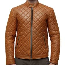 Handcrafted Extreme Fashion Quilted Leather Jacket - Leather ... & Handcrafted Extreme Fashion Quilted Leather Jacket Adamdwight.com
