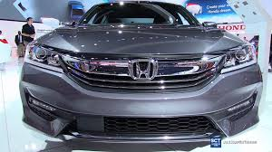 2016 honda accord interior.  Honda 2016 Honda Accord Sport  Exterior And Interior Walkaround 2015 LA Auto  Show YouTube To C