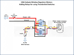 power window conversion 1966 thunderbird switches in 1966 galaxie click image for larger version relay diagram jpg views 17320 size