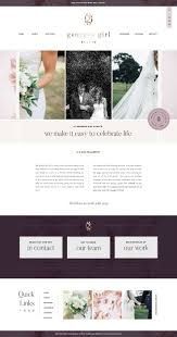 Website Design For Wedding Professionals Custom Showit Web Design For Georges Girl Events By With