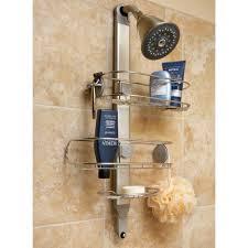 shower design appealing best design idea stainless steel shower caddy compromise peaceful designer l over door com kel chrome shelf kadoka organiser