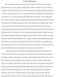 An Example Of A Well Written Essay Nonlogic