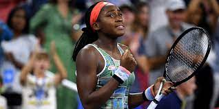 15-year-old Coco Gauff joked about ...