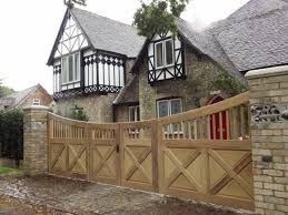 iroko hardwood bi fold gates emsworth